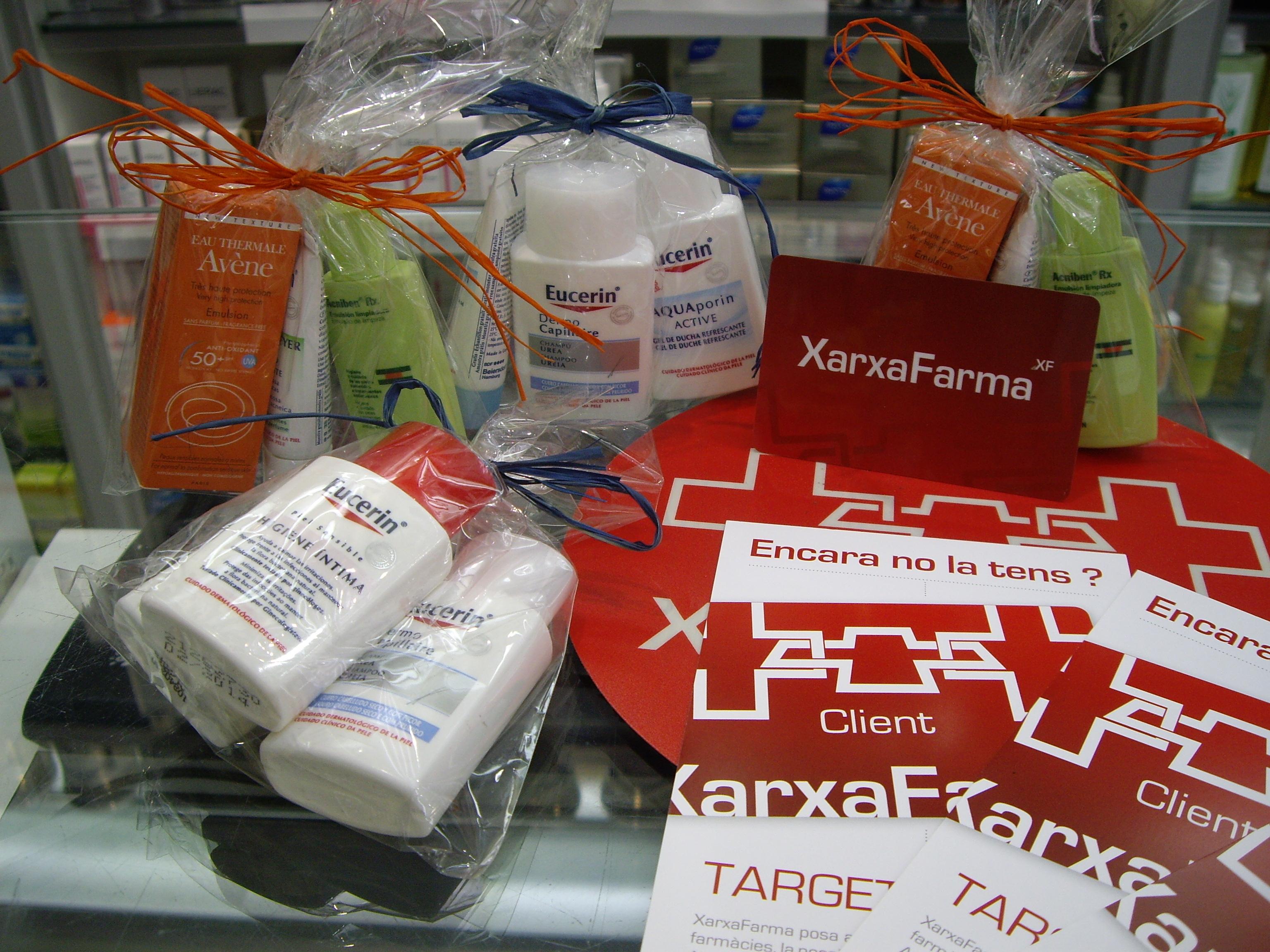 Targeta Client Xarxafarma Farmacia Torras Badalona